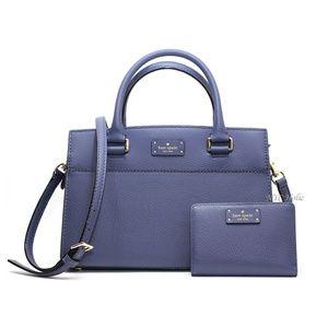 Kate Spade New York Small Caley Wallet Set Blue